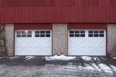 WOOD CARRIAGE DOOR