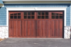 WOOD CARRIAGE DOOR